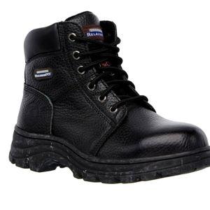 Sketchers Steel Toe Memory Foam Work Boots 7.5 Blk